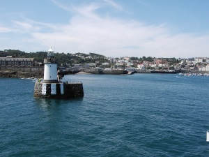 Arriving to Guernsey