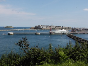 The walled city of St Malo
