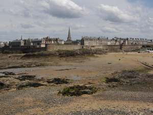 St Malo from the causeway
