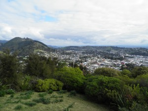The city of Nelson from the Centre of New Zealand