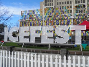 IceFest in Cathedral Square