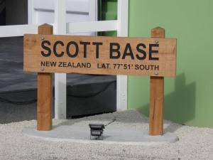 Signage at the IceFest Hub