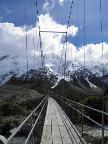 The second suspension bridge