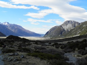 Looking towards Mount Cook