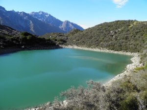 Third blue lake