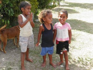 Village children on Yanuya Island