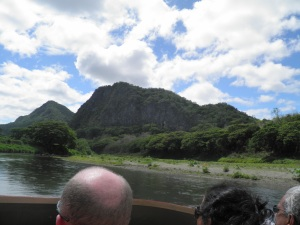 Jetboating on the Sigatoka river