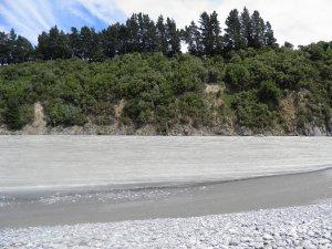 Rakaia river bed