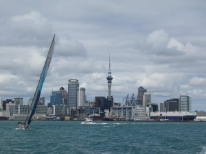 Auckland from the Devonport Ferry