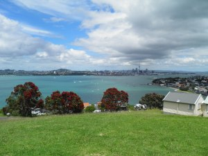 Auckland across the harbour from Devonport