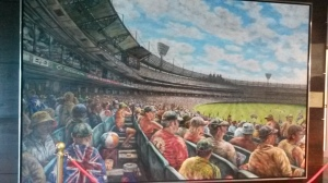 Painting in Melbourne Cricket Ground