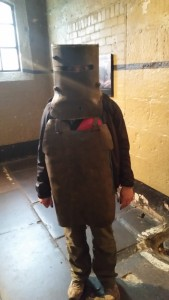 Me as Ned Kelly