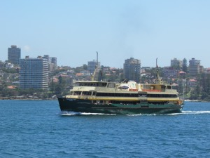 Manly ferry at Manly