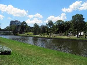 Paramatta river in Paramatta