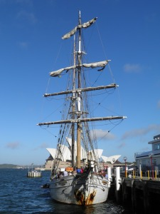 Tall Ship in Circular Quay