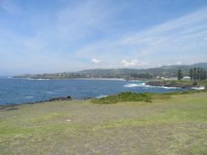 Coastline at Kiama