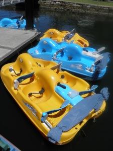 Paddle boats at Bobbin Head