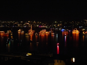 Flotilla on New Years Eve
