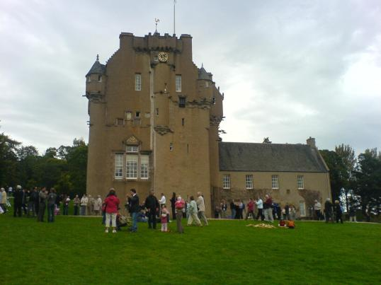 Crathes Castle, Grampian