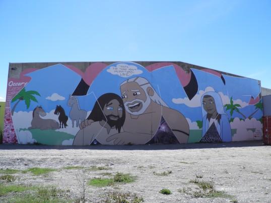 Love Mural, Artist Unknown, Byron St