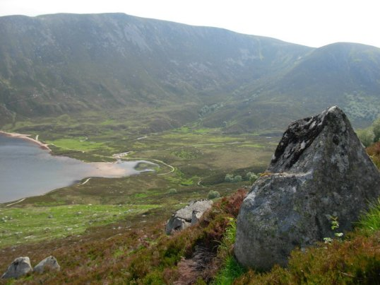The head of Loch Muick