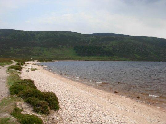 Loch Muick beach