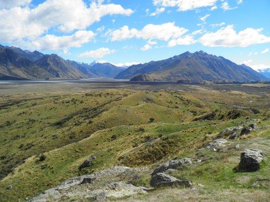 Summit view North-West