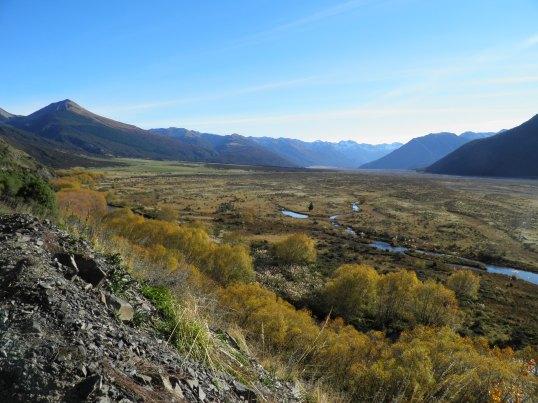 Waimakariri river valley