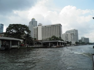 The Banks of the Chao Phraya River