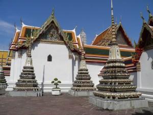 Wat Pho courtyard
