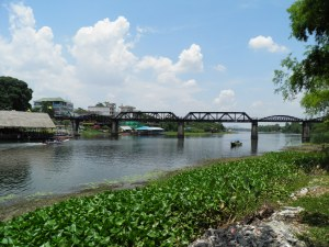Bridge on the River Kwai from the Chinese temple