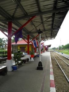 Kanchanaburi train station