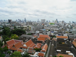 Bangkok from the Golden Mount
