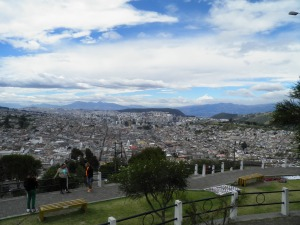 Quito to the north