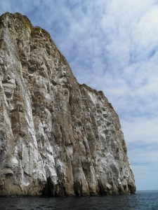 Kicker Rock cliff-face