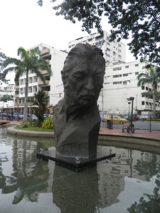 Statue in the Malecon