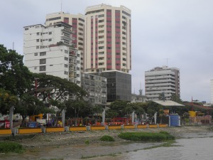 Guayaquil on the river bank