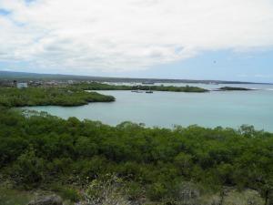 Puerto Ayora from Las Grietas