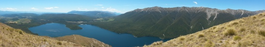 Panorama of Lake Rotoiti