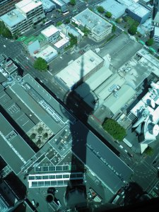 Sky Tower shadow
