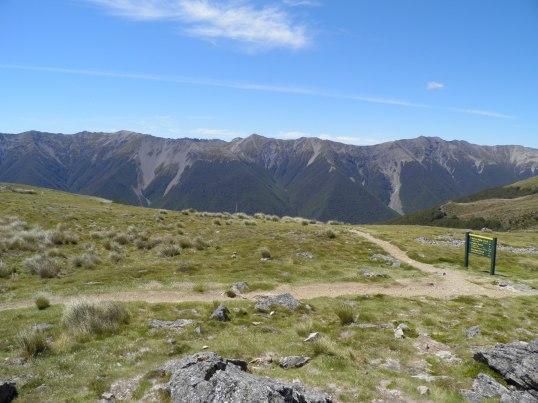 Looking across to the St Arnaud Range