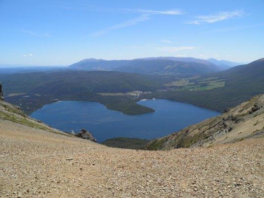 Lake Rotoiti from the shingle ridge