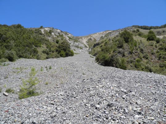 2nd scree slope