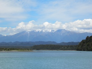 Southern Alps from Okarito