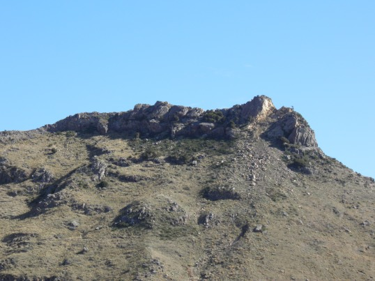 The remains of Castle Rock