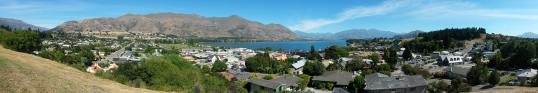 Wanaka from the lookout