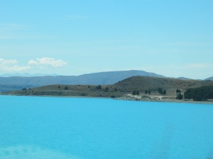 Amazing blue of Lake Pukaki