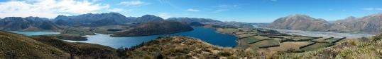 Lake Coleridge panorama