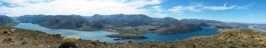 Lake Coleridge from the summit