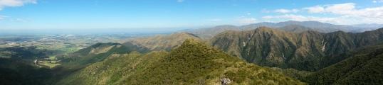 Hiking the South Ridge track